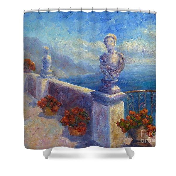 Ravello View Shower Curtain