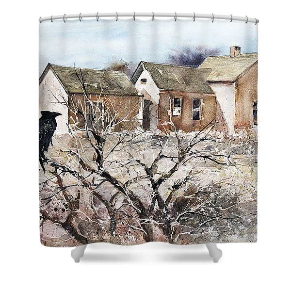 Raven Roost Shower Curtain