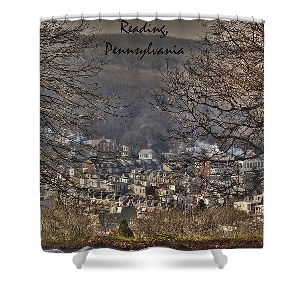Reading Pennsylvania Shower Curtain