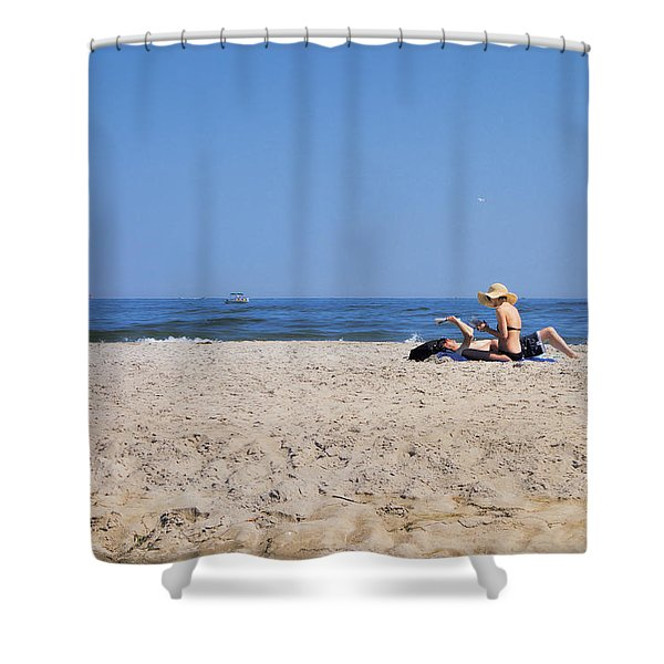 Reading Room Shower Curtain