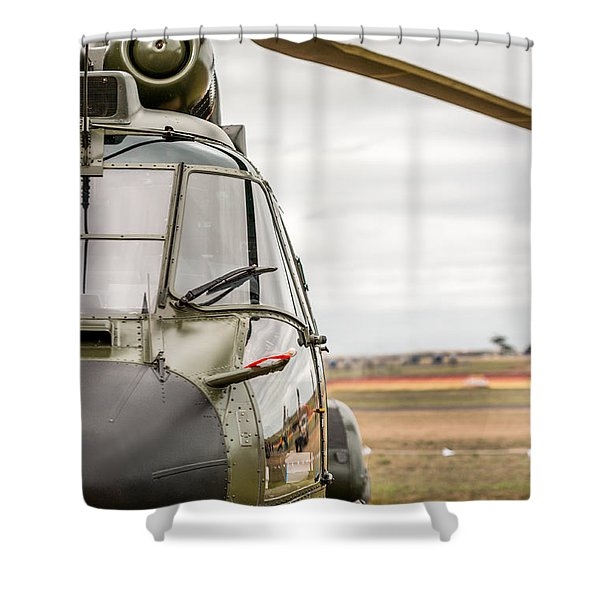 Ready For Action II Shower Curtain