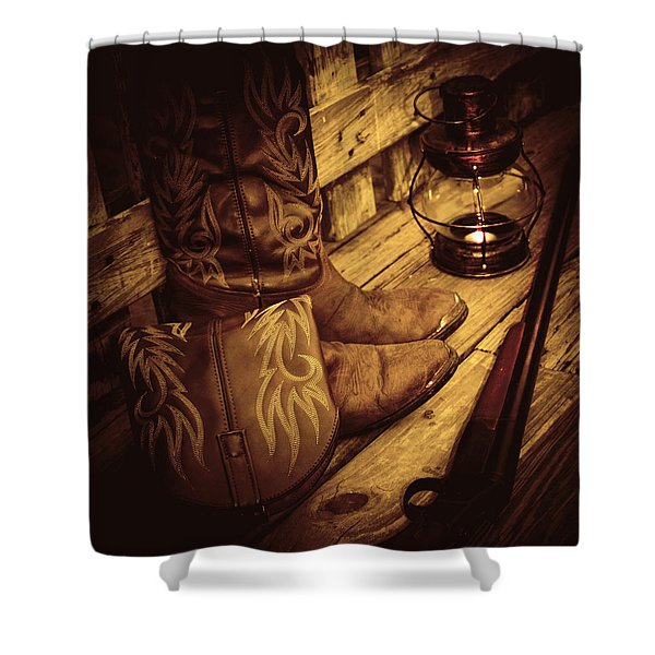 Ready To Hunt Too Shower Curtain