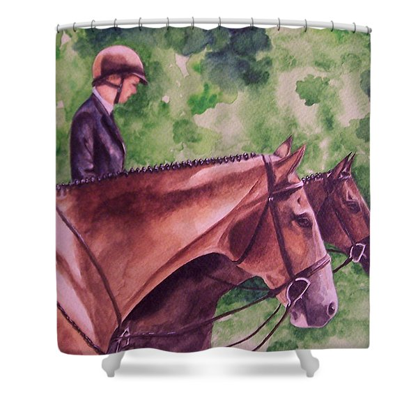 Ready To Show Shower Curtain