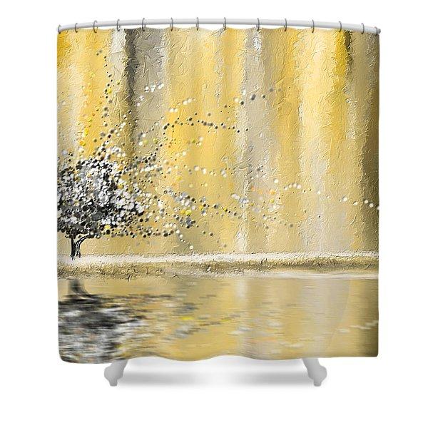 Reawakening Shower Curtain