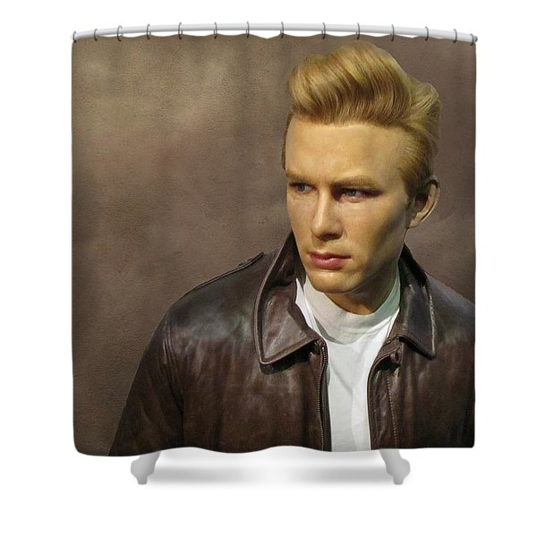 Rebel Without A Cause Shower Curtain