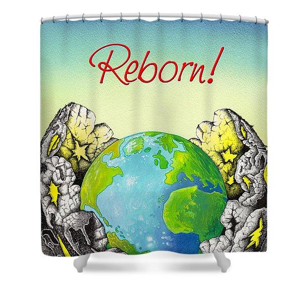 Reborn Shower Curtain