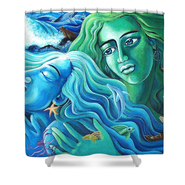 Reclaiming The Seas Shower Curtain