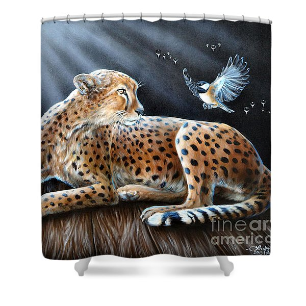 Reclusion  Shower Curtain
