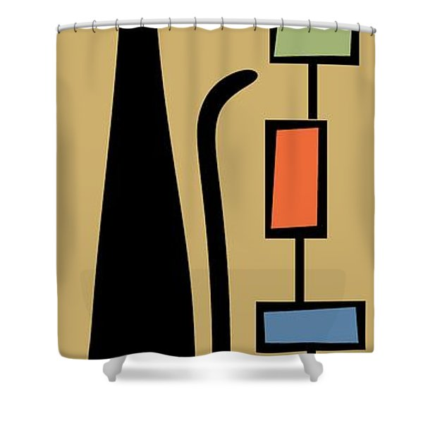 Rectangle Cat 2 Shower Curtain