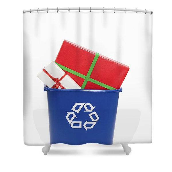 Recycled Gifts Shower Curtain