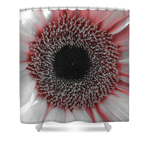Red Delight Shower Curtain