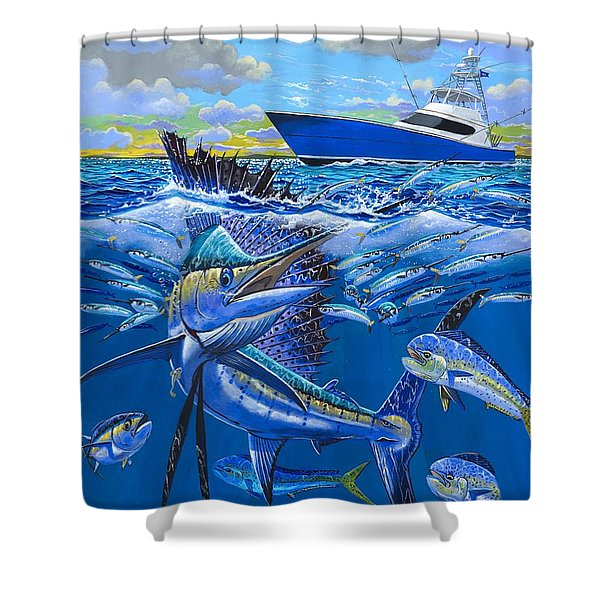 Reef Sail Off00151 Shower Curtain