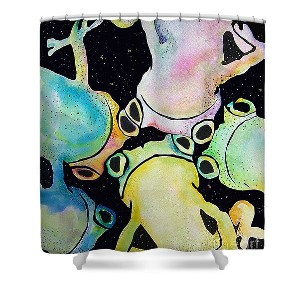 Reflecting Pond Shower Curtain