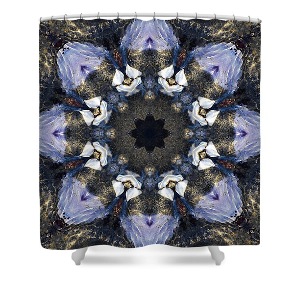 Reflection - Kaleidoscope Art Shower Curtain