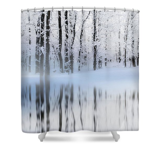 Reflection On A Dream Collingwood, On Shower Curtain