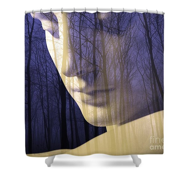 Reflection / The Philosophy Of Mind Shower Curtain
