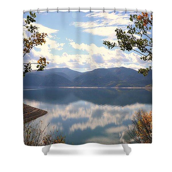 Reflections At Palisades Shower Curtain
