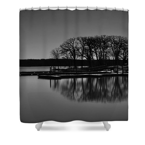 Reflections Of Water Shower Curtain