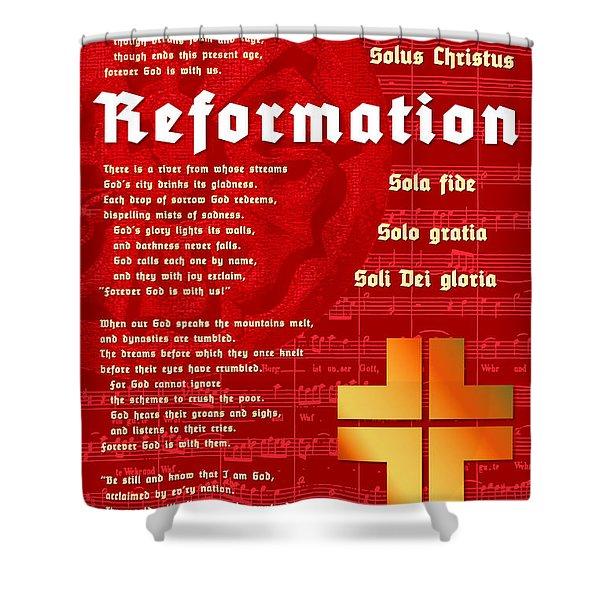 Reformation Shower Curtain