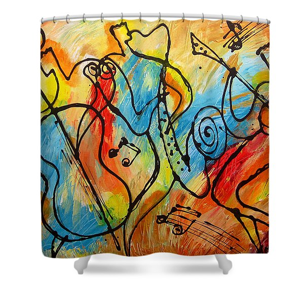 Ragtime 2 Shower Curtain