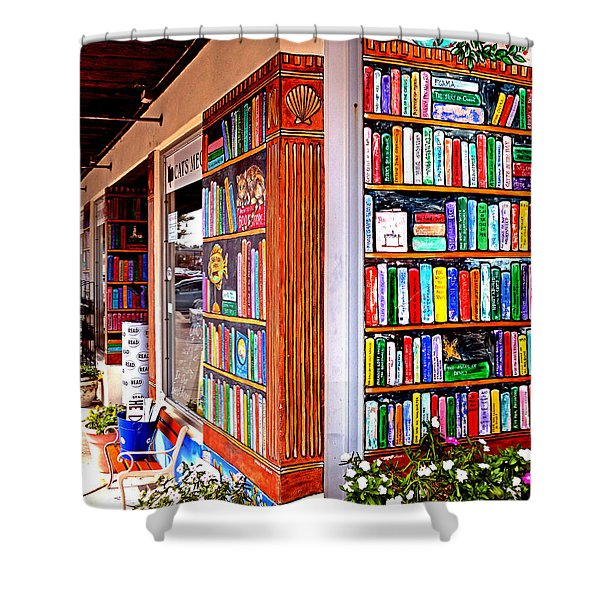 Rehoboth Beach Browseabout Books Shower Curtain