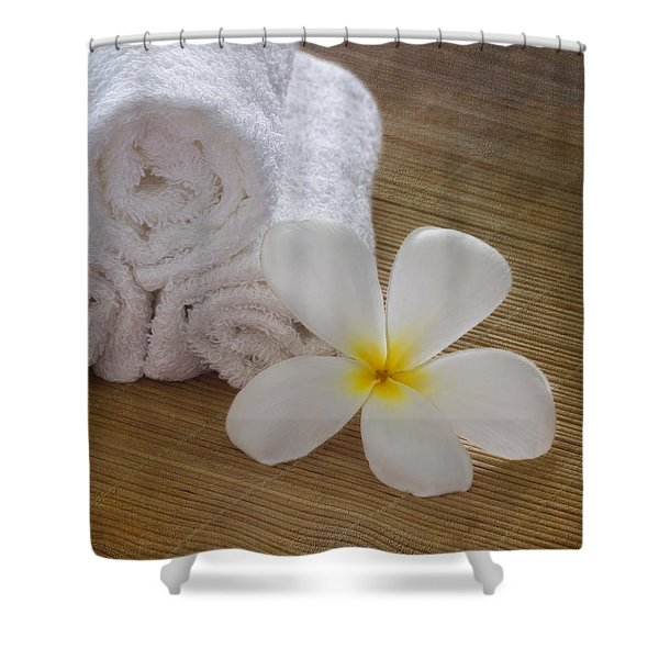 Relax At The Spa Shower Curtain