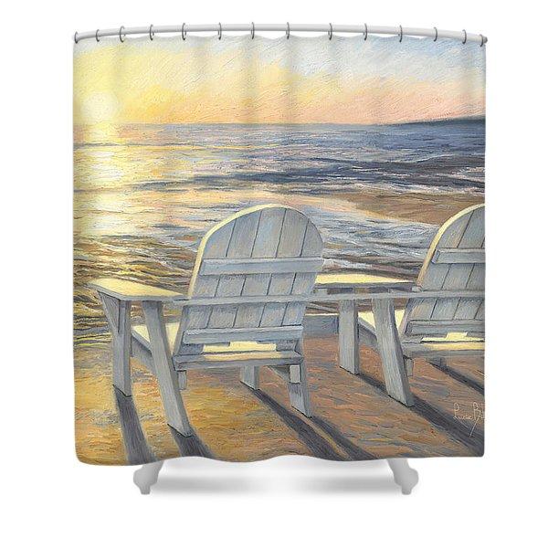 Relaxing Sunset Shower Curtain