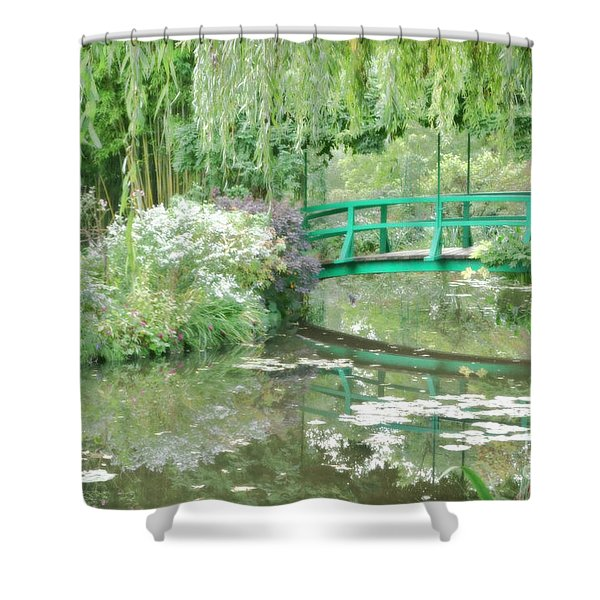 Remembering Monet  Shower Curtain
