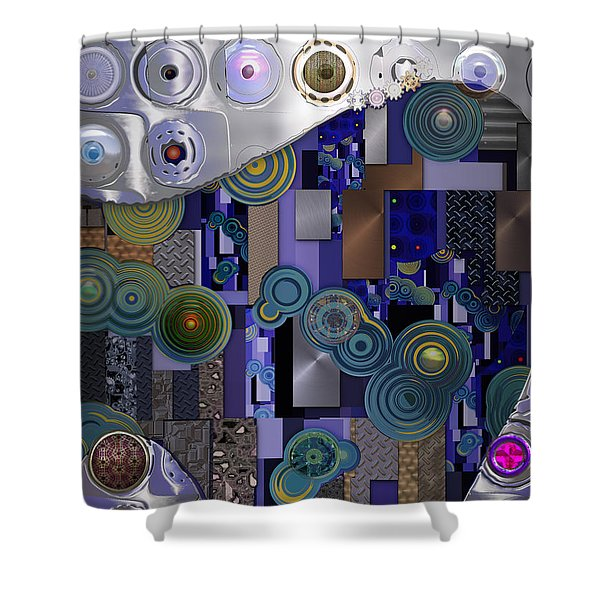 Remodern Dream Abstractor  Shower Curtain