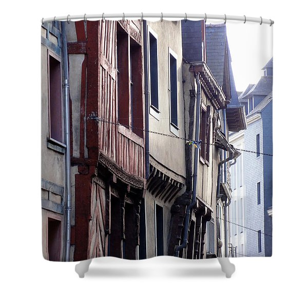 Rennes France 2 Shower Curtain