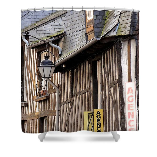 Rennes France Shower Curtain