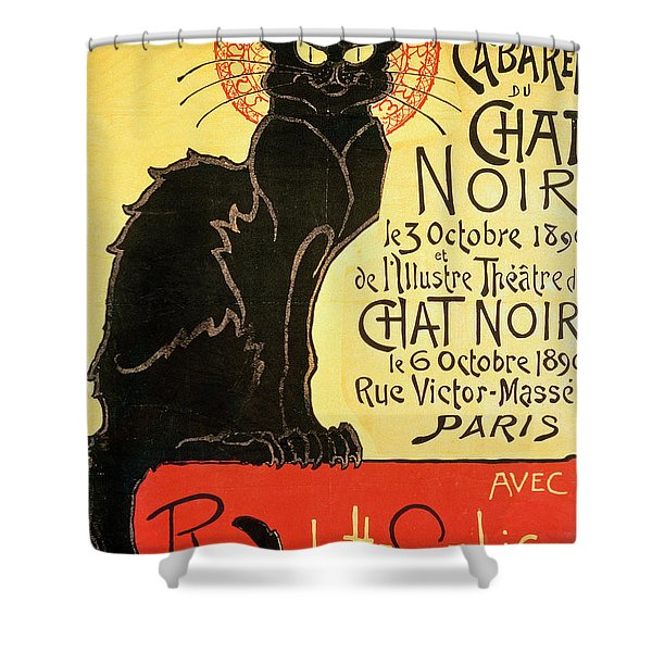 Reopening Of The Chat Noir Cabaret Shower Curtain