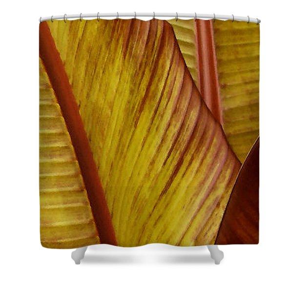 Repose - Leaf Shower Curtain