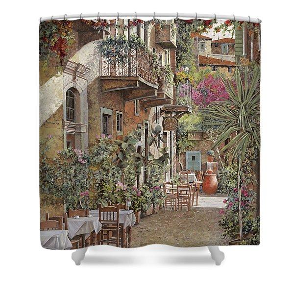 Rethimnon-crete-greece Shower Curtain