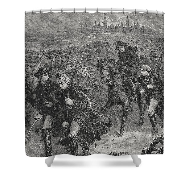 Retreat From Moscow Shower Curtain