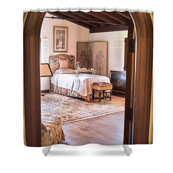 Retreat To The Past Shower Curtain