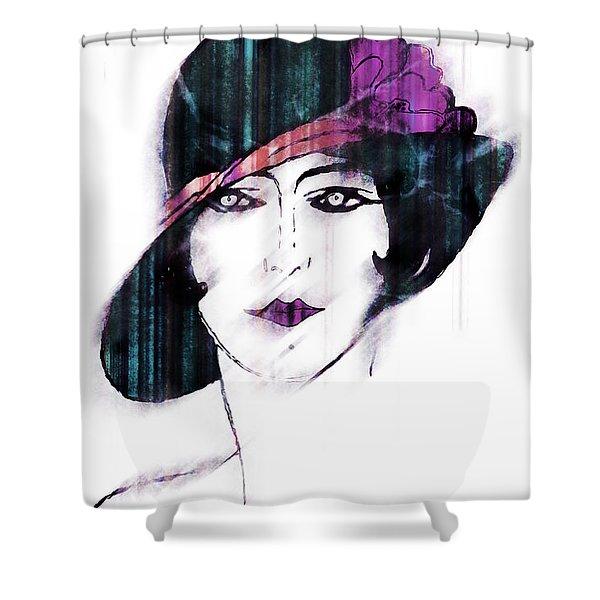 Retro 3d Shower Curtain