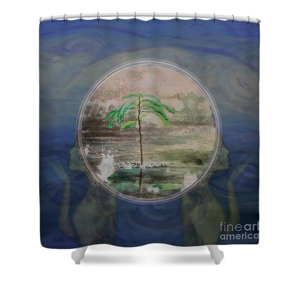 Return To A Half Remembered Dream Shower Curtain