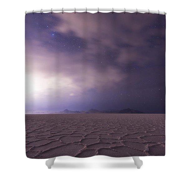 Silent Reverie Shower Curtain