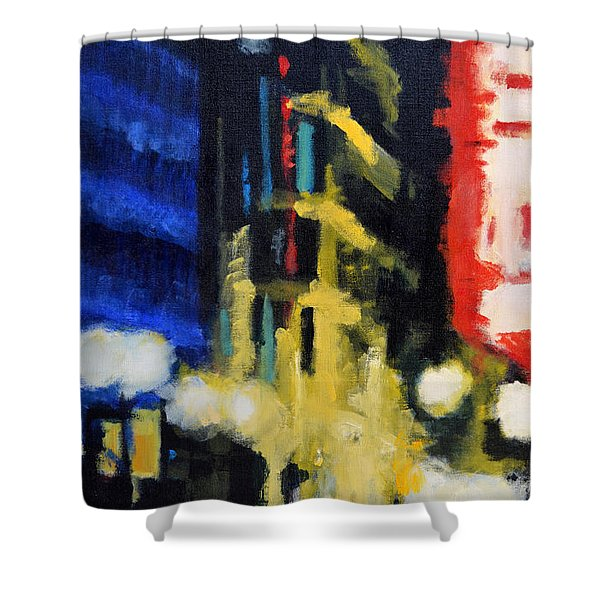 Revisionist History Shower Curtain