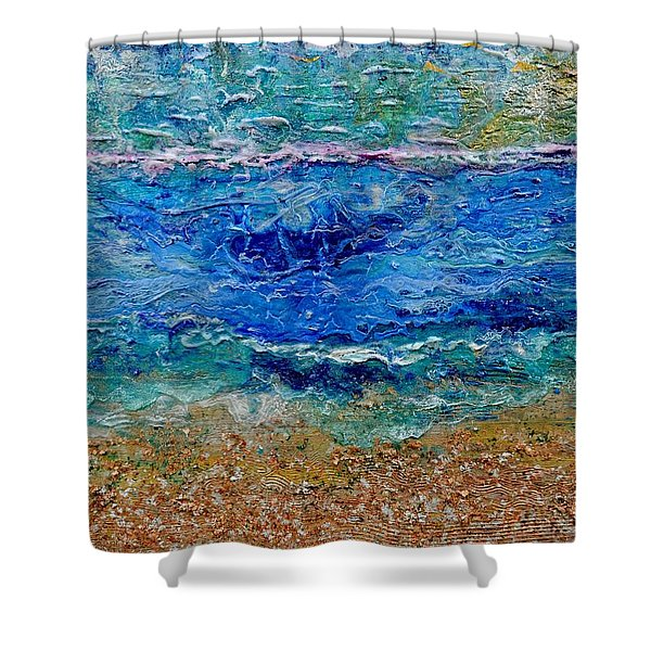 Rhapsody On The Sea  Shower Curtain
