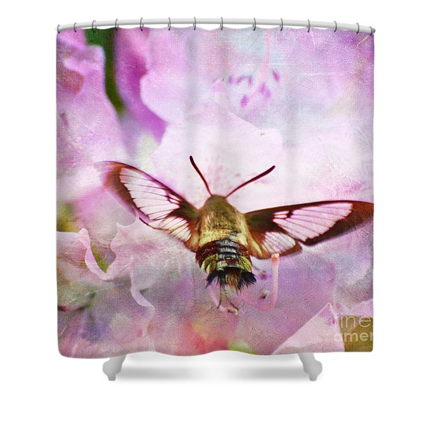 Rhododendron Dreams Shower Curtain