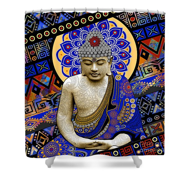 Rhythm Of My Mind Shower Curtain
