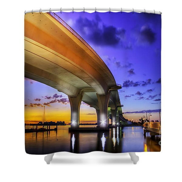 Ribbon In The Sky Shower Curtain