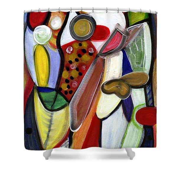 Rich In Character Shower Curtain