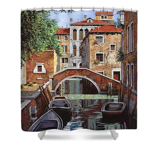 Riflessi Di Venezia Shower Curtain