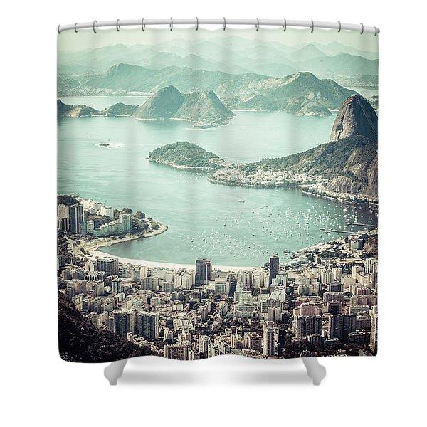 Rio De Janeiro Shower Curtain