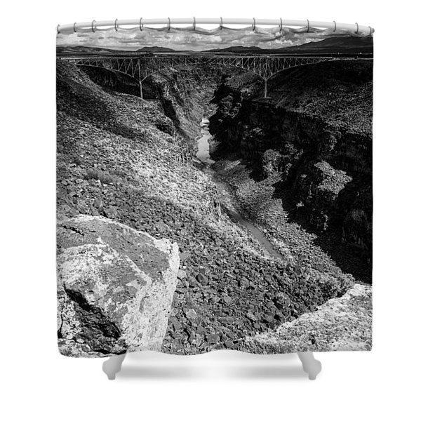 Rio Grande Gorge - Taos New Mexico Shower Curtain