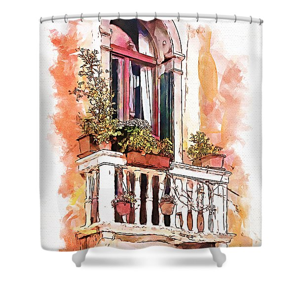 Riposo Shower Curtain