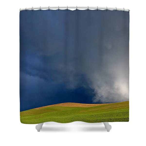 Rising Storm Over The Palouse Shower Curtain